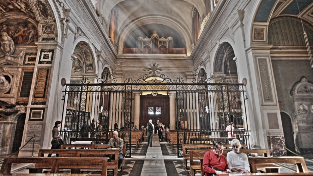 Kirche in Rom.